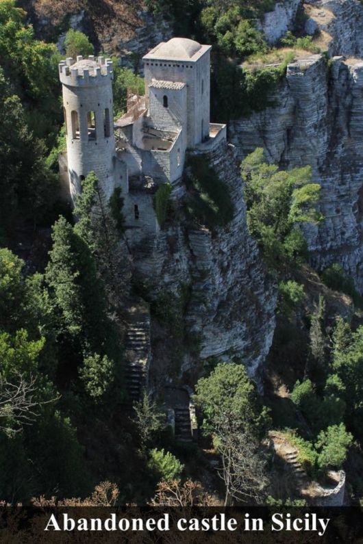 Abadoned Castle In Italy Inspired Torcal Trilogy Abbey