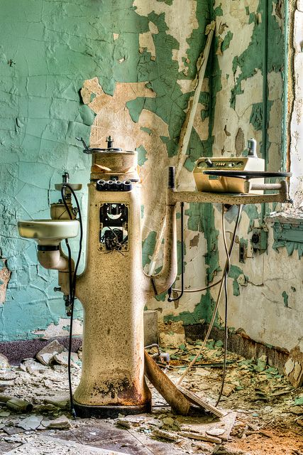 Abadoned Dentist Equipment