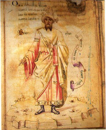 Ancient Book By Jabir ibn Hayyan in Elixa