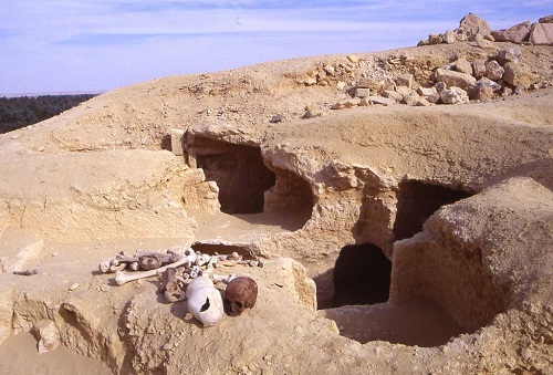 Crumbling ruins of Shali in Siwa Oasis Featured in The Luna Legacy