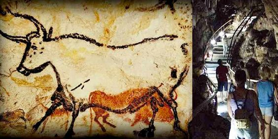 Nerja Cave Rock Painting Inspiration