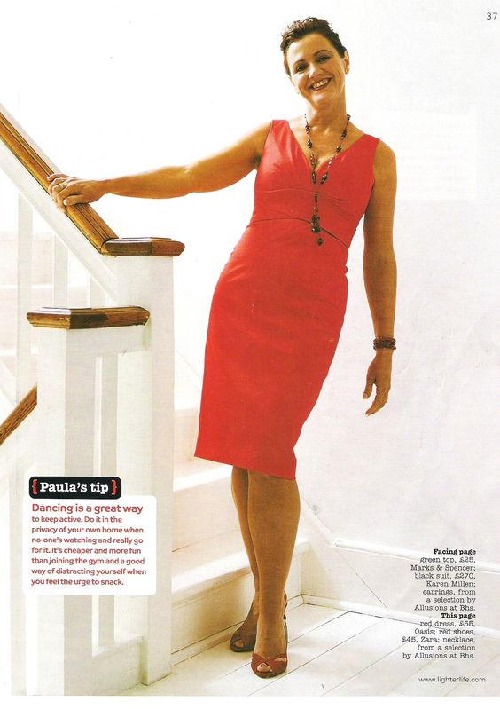 Paula featured in Lighter Life magazine