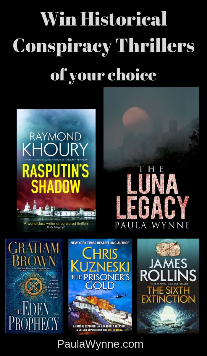 Win Historical Conspiracy Thrillers Of Your Choice