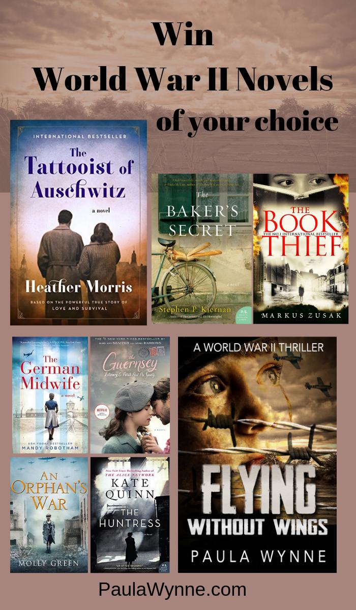 Win World War II Novels Of Your Choice