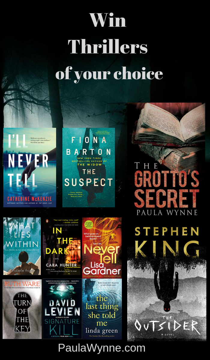 Win Thrillers Of Your Choice