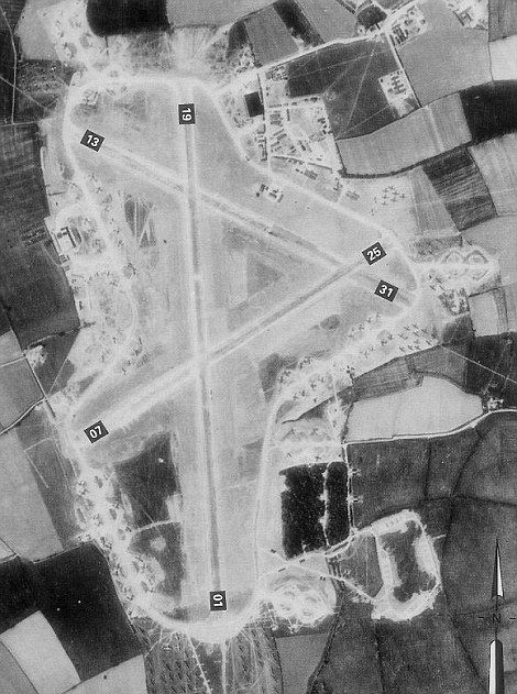 Secret Hidden World War II Airfield