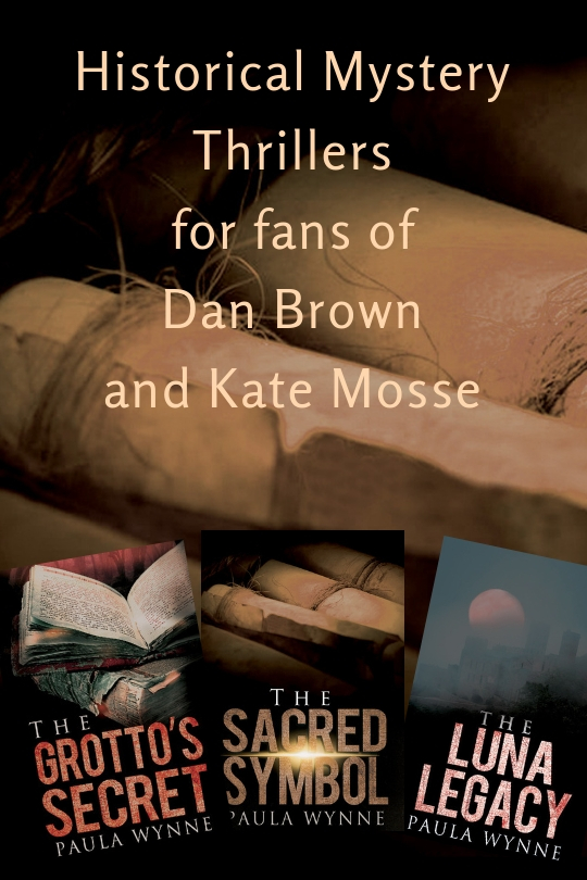 Historical Mystery Thrillers for fans of Dan Brown and Kate Mosse