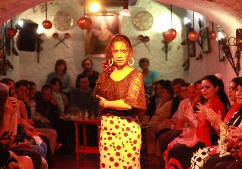 A Flamenco Zambra Scene Featured in The Luna Legacy