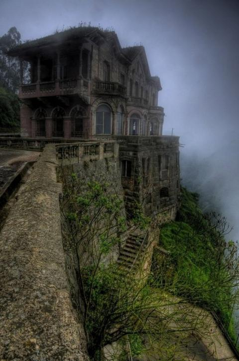 Abadoned Mountain Mansion