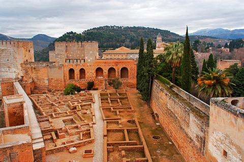 Alhambra Palace Alcazaba featured in The Luna Legacy