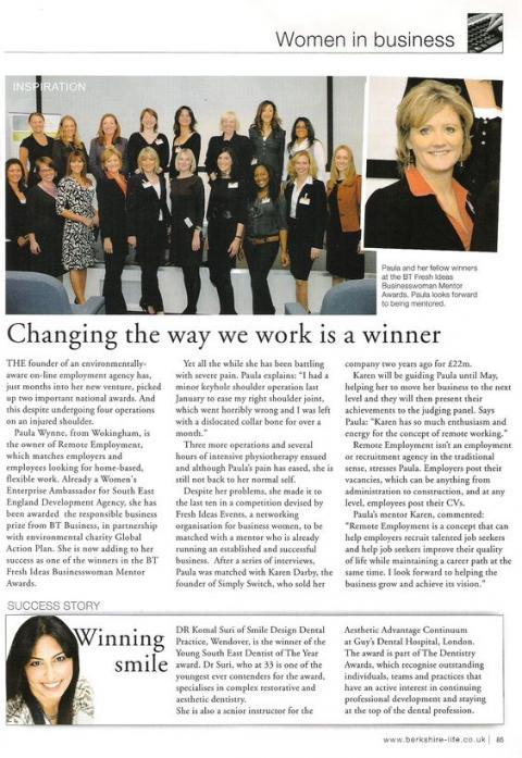 Paula Wins Mentor Karen Darby