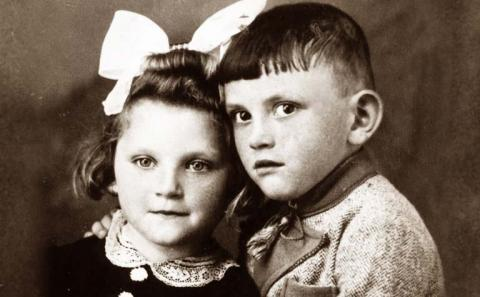 World War II Brother And Sister
