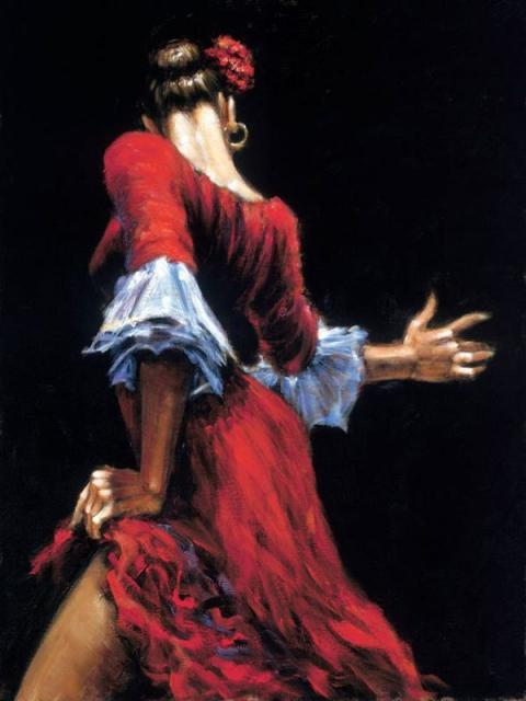 Flamenco Dancer Featured In The Luna Legacy