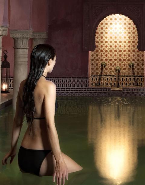 Hamman bathhouse in Alhambra Palace Featured In The Luna Legacy