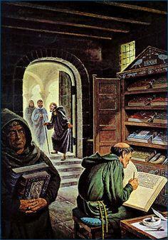 Medieval Libray In Elixa