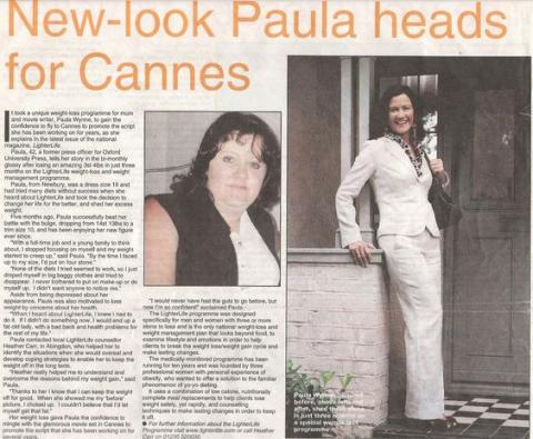 Paula heads for Cannes Film Festival