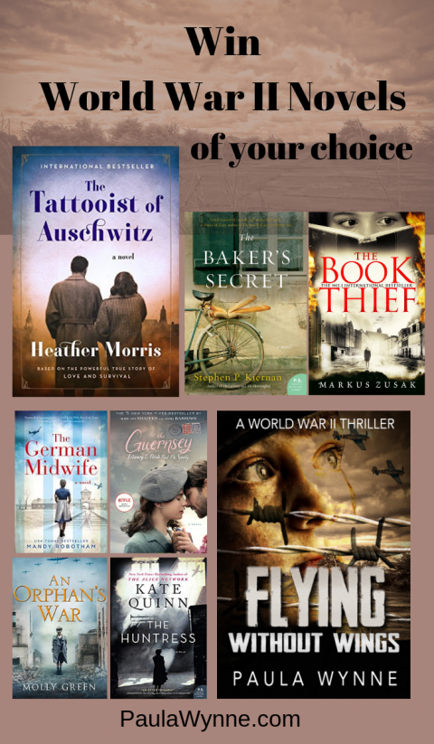 Win World War II Novels Of Your Choice