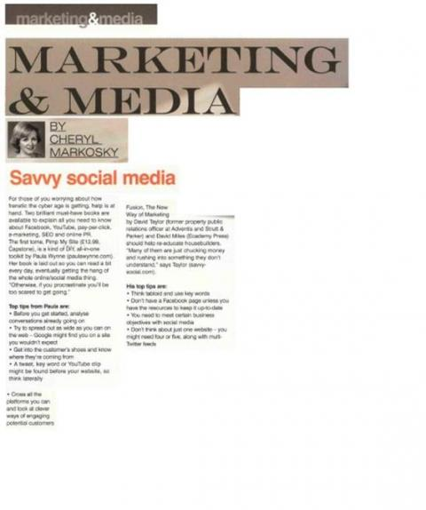 Savvy Marketing and Media