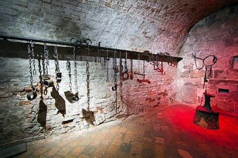 Medieval Torture Chamber Instruments