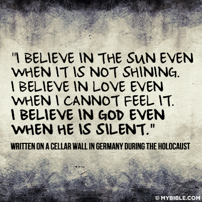 World War II Concentration Camp Quote