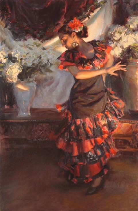 Zambra Flamenco  Dancer Featured In The Luna Legacy